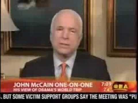 McCain Thinks Iraq Borders Pakistan