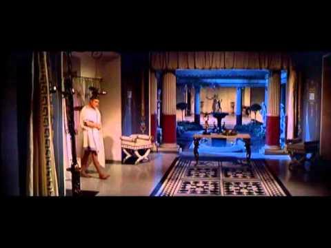 "Tony Curtis e Laurence Olivier em ""Spartacus"" - Do you eat snails?"