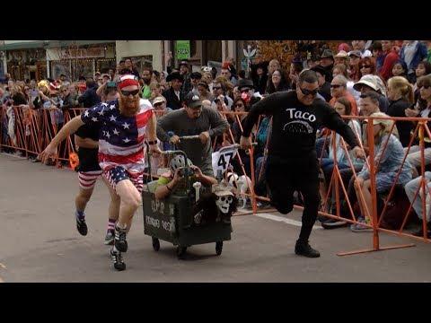24th annual coffin race