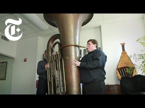 Playing a Titanic Tuba | The New York Times