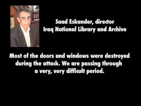 Iraq National Library and Archives Director Saad Eskander