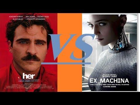 Her Vs. Ex-Machina: Writing Artificial Intelligence