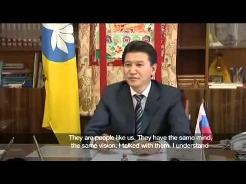 President Kirsan Ilyumzhinov tells of his Alien Abduction