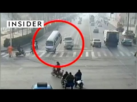 Cars are floating off the ground in China now
