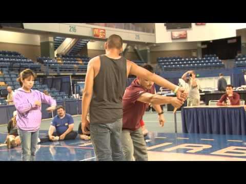 WEIO 2014 Indian Stick Pull