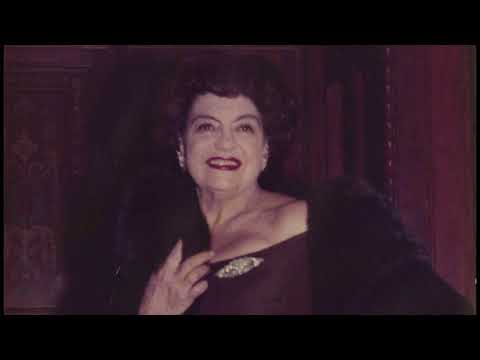 """Rosa Ponselle - Villa Pace - 3 Arias from """"SAMSON et DALILA"""" (Saint-Saëns) with piano 1953"""