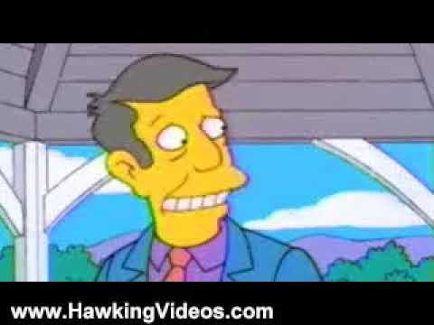 Stephen Hawking Videos: Stephen Hawking in The Simpsons