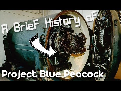 A brief History of: Project Blue Peacock