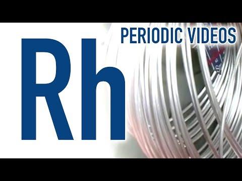 Rhodium - Periodic Table of Videos
