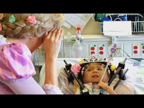 Nurses and Doctors Wear Tiaras for Princess-Loving Patient