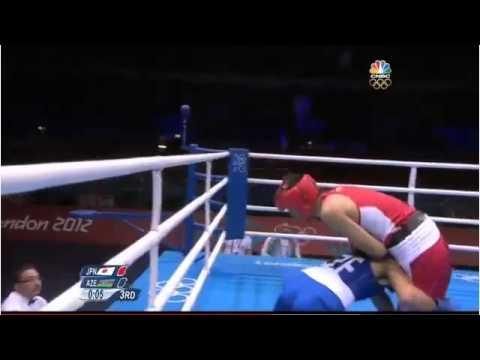 2012 London Olympics Fixed boxing match Satoshi Shimizu (Japan) vs Magomed Abdulhamidov (Azerbaijan)