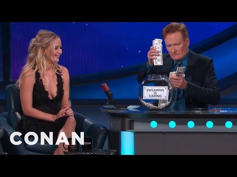 Jennifer Lawrence's Potty Mouth | CONAN on TBS