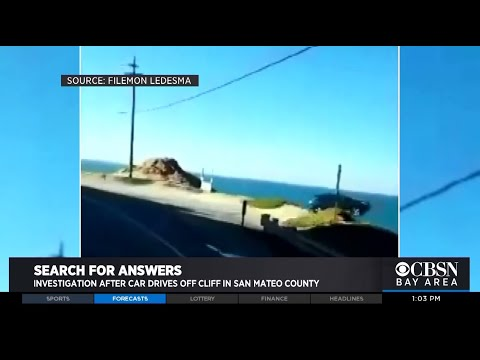 Video Of Purported Highway 1 Cliff Plunge Surfaces; Search For Driver Continues
