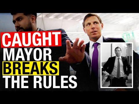 CAUGHT! Brampton Ontario Mayor Patrick Brown Breaks His Own Pandemic Rules