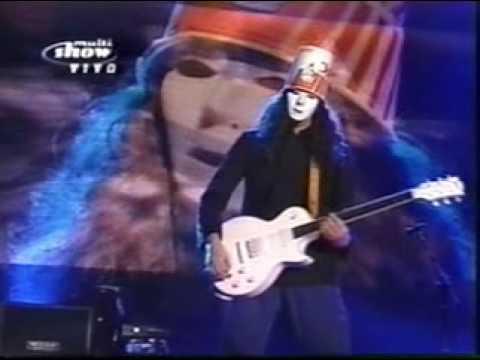 guns n roses- Buckethead Solo (rock in rio III)