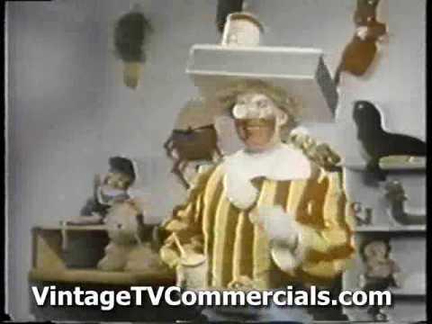 RARE First Ever RONALD MCDONALD MCDONALDS Commercial