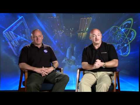 Interview with Scott and Mark Kelly Part 1 NASA