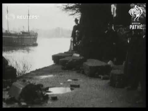The River Thames floods London (1928)
