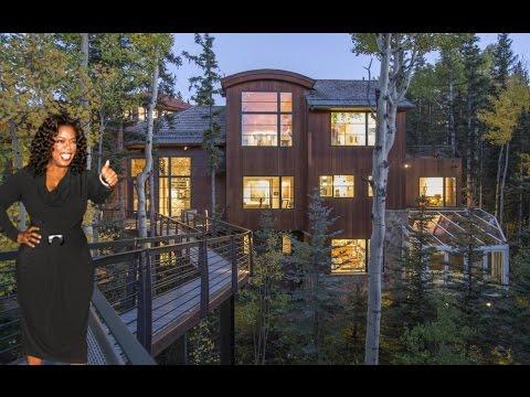 Oprah Winfrey's House In Telluride - 2016 [ $14 Million ] (Inside & Outside)