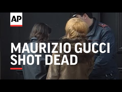 Italy - Maurizio Gucci Shot Dead