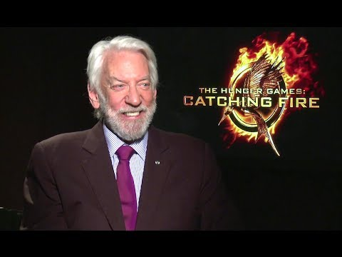Donald Sutherland Interview - The Hunger Games: Catching Fire (HD) JoBlo.com