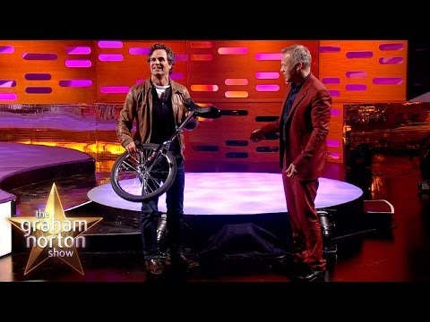 Mark Ruffalo Rides an Enormous Unicycle - The Graham Norton Show
