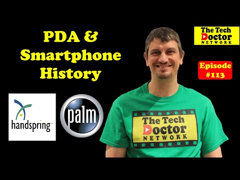 113: A history of my PDA (Personal Digital Assistant) & Smartphones 1996-2008