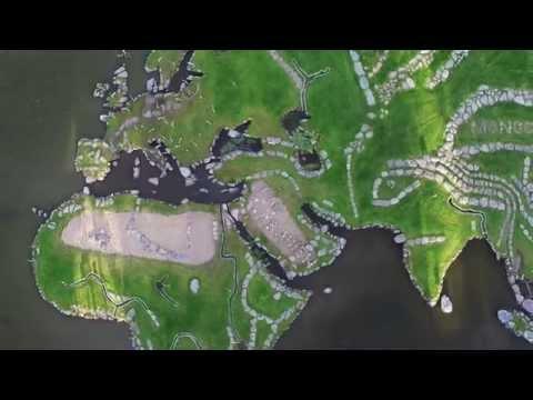 World Map Of Lake Klejtrup