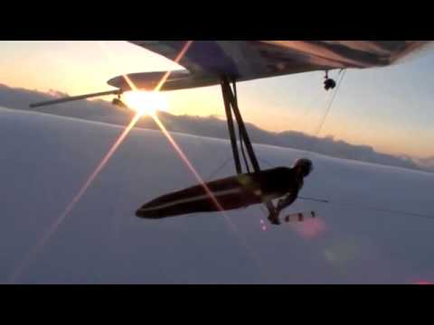 Hang Gliding a Morning Glory ( Jonny Durand ) Surfing the biggest wave Ever