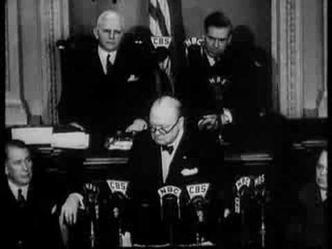 Winston Churchill 'Now we are Masters of Our Fate' Speech