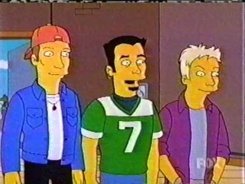 The Simpsons - ★NSYNC - ★NSYNC's Gift Basket