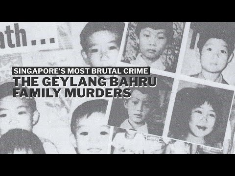 The Geylang Bahru Murder of 4 children in Singapore | True Crime