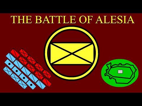 The Battle of Alesia (52 B.C.E.)