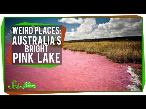 Weird Places: Australia's Bright Pink Lake