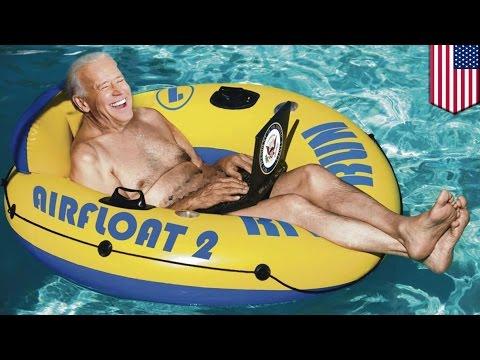 Vice President Joe Biden loves to skinny dip, new tell-all book reveals