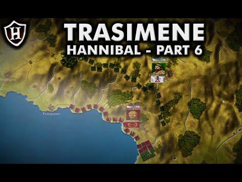 Battle of Lake Trasimene, 217 BC ⚔️ Hannibal (Part 6) - Second Punic War