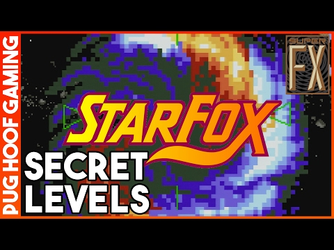 Starfox (SNES) - How To Find The Secret Warps: The Black Hole & Out Of This Dimension