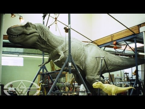 How They Made Jurassic Park's T-Rex - Sculpting a Full-Size Dinosaur