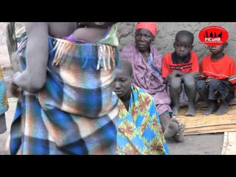 Chinamwali cultural process of the Sena girls in Chikwawa Malawi!