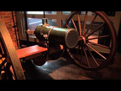 Vandenburg Volley Gun 121 Barrells at Tredegar Iron Works