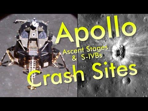 Apollo Crash Sites: Lunar Modules & S-IVBs