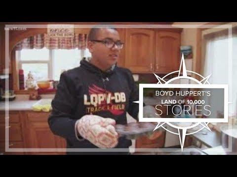 Denied trip to Disney World, teen takes family himself - baking cupcakes