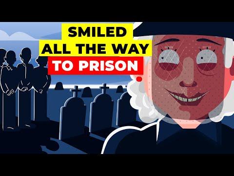 Giggling Granny: The Creepy Story of Serial Killer Nancy Doss   Crime Infographics
