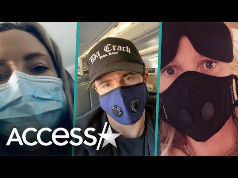 Selena Gomez, Gwyneth Paltrow & More Stars Wear Face Masks Amid Coronavirus Fears