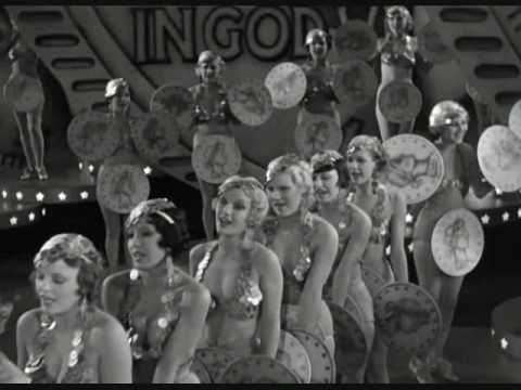 """Gold Diggers of 1933 - """"We're in the Money"""""""