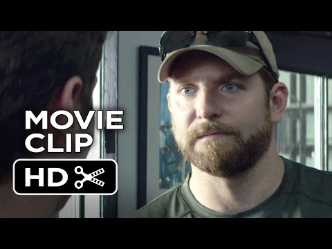American Sniper Movie CLIP - You Saved My Life (2015) - Bradley Cooper Movie HD