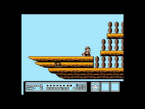 How to get the treasure ship in Mario 3 world 1