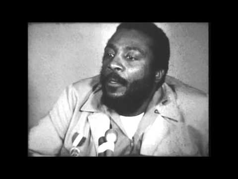 Dick Gregory presidential candidacy interview, 1968