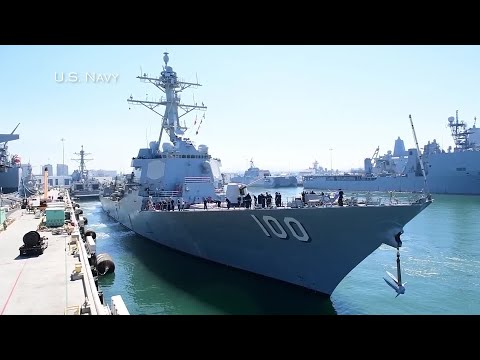 Pictures and video show Unidentified Flying Objects moving above U.S. Navy warships
