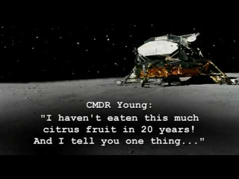 Farting on the Moon - Apollo 16